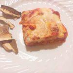 Lasagne con ragù ai funghi