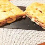 Strudel salato con wurstel, patate e scamorza