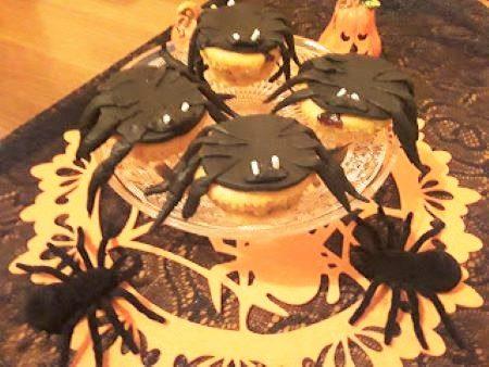 Muffin ragno Halloween