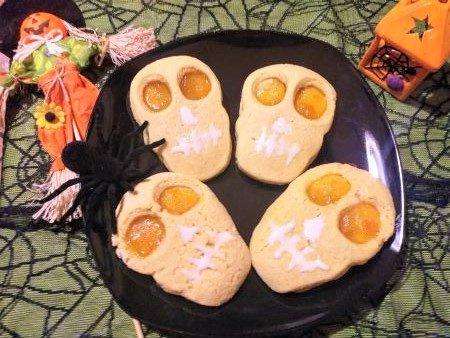 Biscotti occhio di bue Halloween