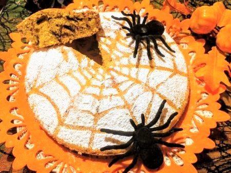 Torta di zucca e cioccolato Halloween