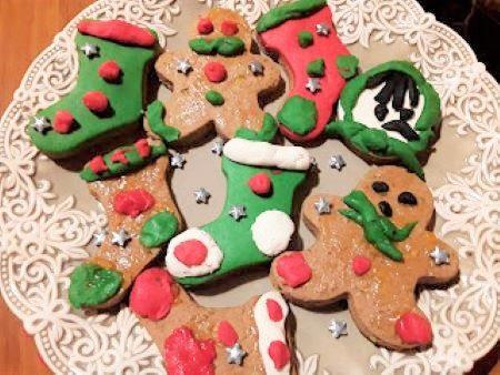 Biscotti decorati della befana