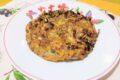 Frittata di carciofi e cipolle di tropea
