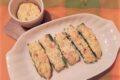 Zucchine ripiene con robiola e salmone