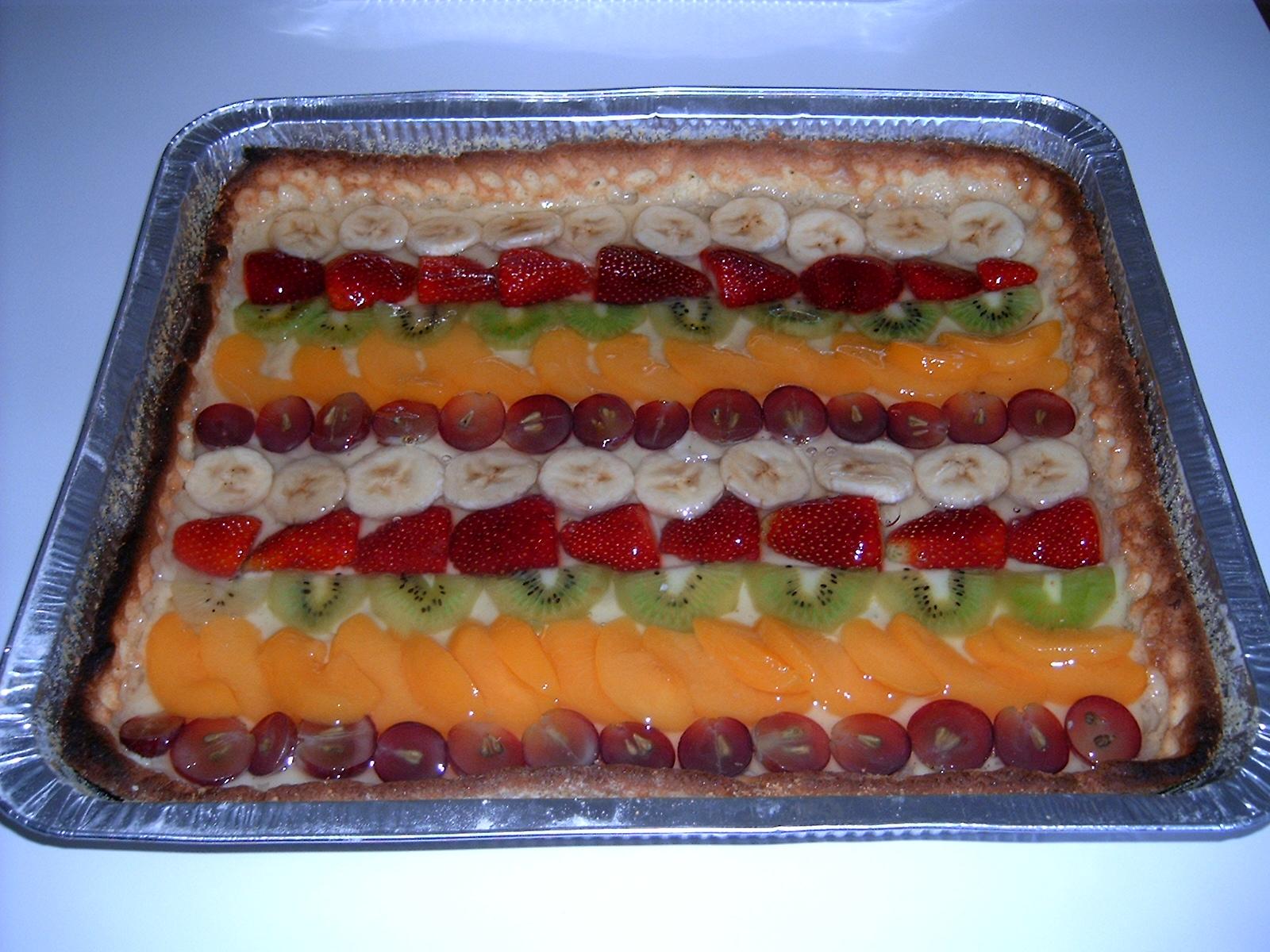 Crostata Di Frutta Rettangolare Lusiammynancy Web