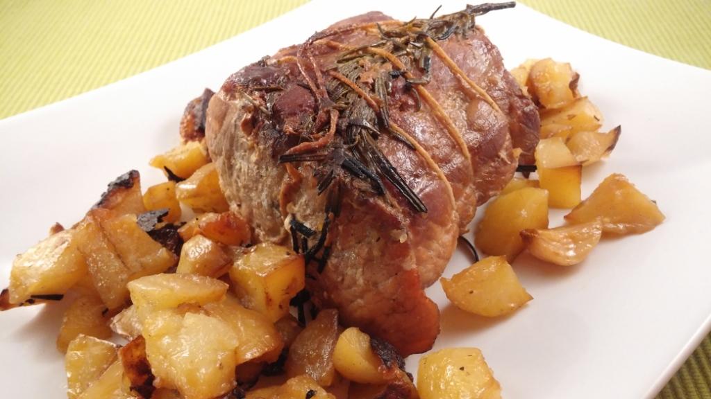 Arrosto di maiale con patate cotto sul bbq mica solo for Arrosto maiale