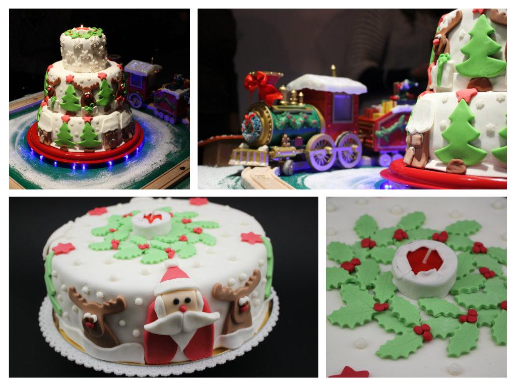 Torte di natale decorate vi mostro le torte decorate di - Decorazioni torte natale ...
