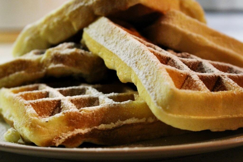 Ricetta Waffle Dolci Giallo Zafferano.Waffle Morbidi E Alti Mica Solo Dolci