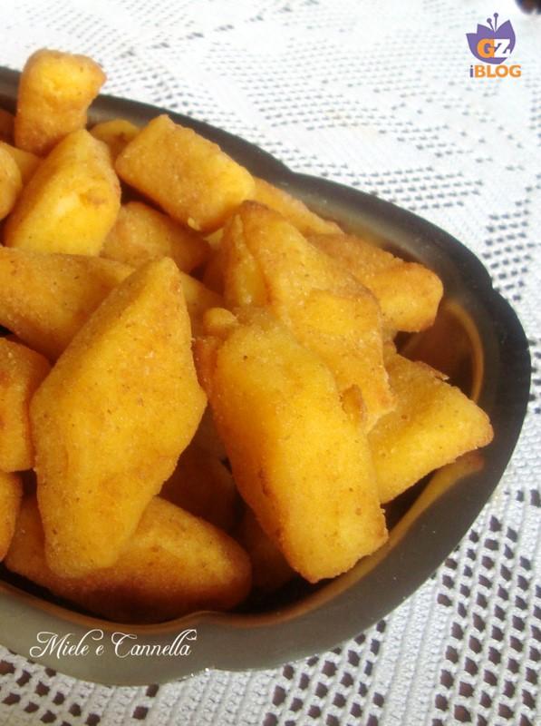 cremini fritti miele e cannella