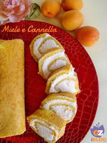 c1915701f4d Rotolo dolce con panna e confettura di albicocche   Miele e Cannella