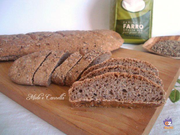 Pane integrale al farro con semi oleosi