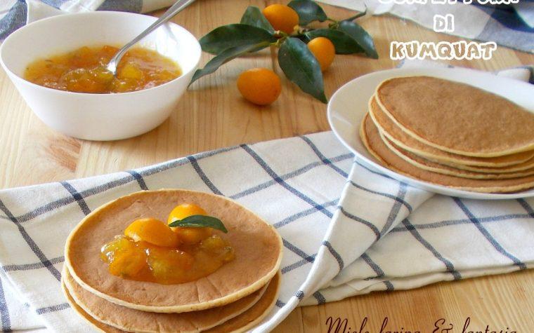 Confettura di mandarini cinesi o kumquat