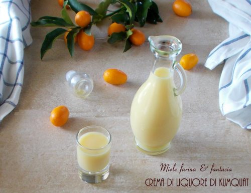 Crema di liquore di kumquat