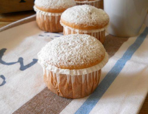 American muffins.Ricetta base