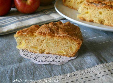 Torta di mele morbida senza burro