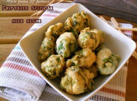 Frittelle con le alghe