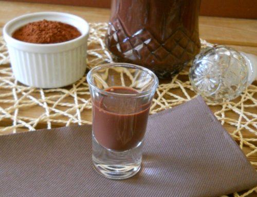Liquore cremoso al cacao