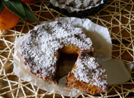 Crostatine al cacao con marmellata di mandarini
