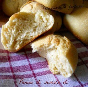 Panini con semola di grano duro