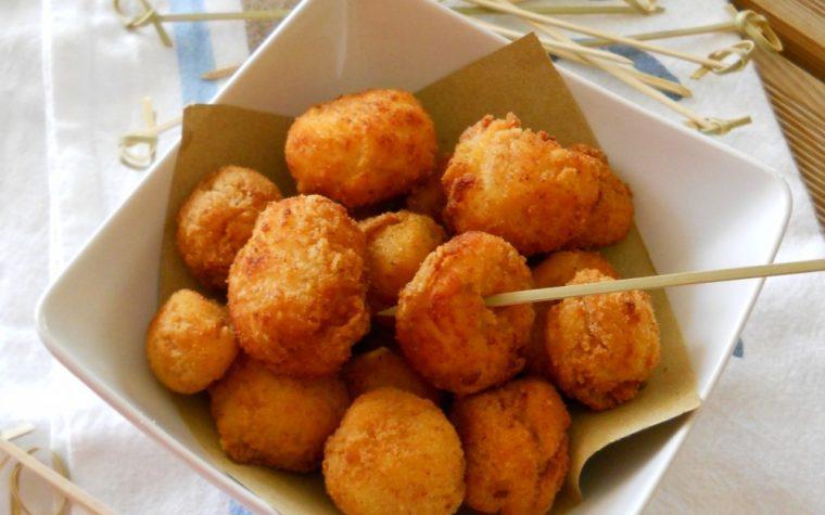 Palline di ricotta fritte senza uova.Ricetta sfiziosa