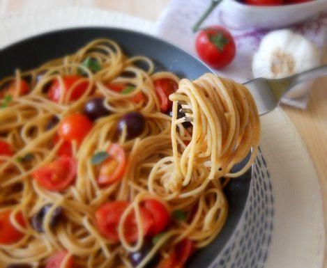 Spaghetti integrali alla marinara