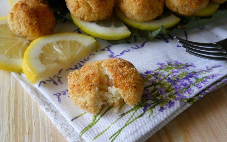 Polpette di patate ricotta e prosciutto senza uova