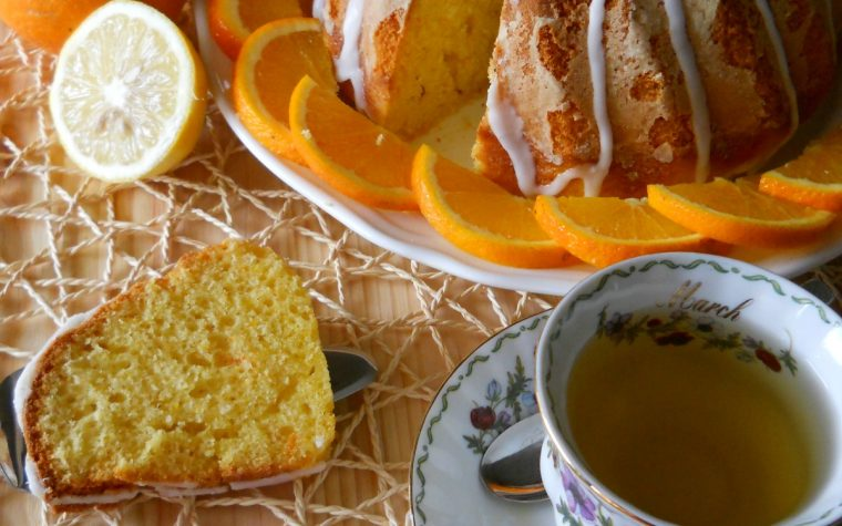 Delizia all'arancia senza burro né latte
