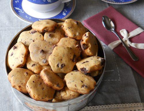 Cookies al miele e cioccolato.Ricetta senza burro