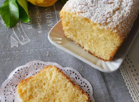 Plumcake al limone senza lattosio