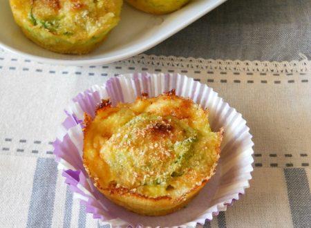 Tortini mignon di zucchine
