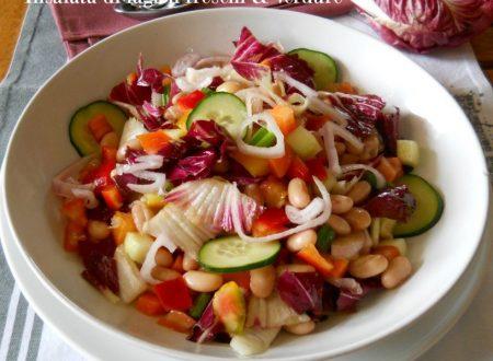 Insalata di fagioli freschi e verdure