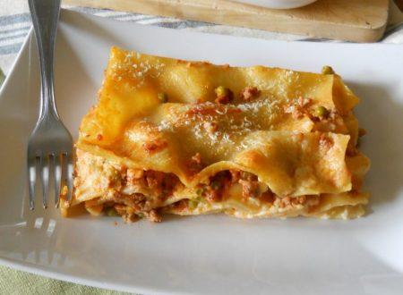 Lasagne con ragù e besciamella