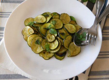 Zucchine alla scapece al forno