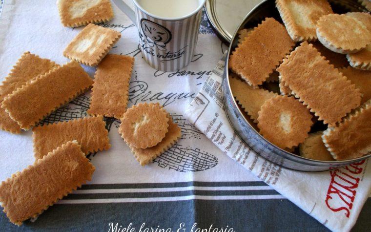 Biscotti con farina di castagne