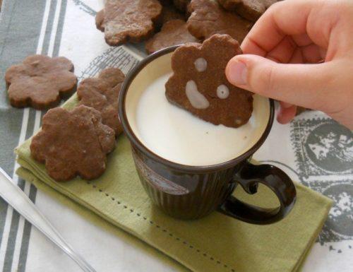 Biscotti allo zenzero e cacao