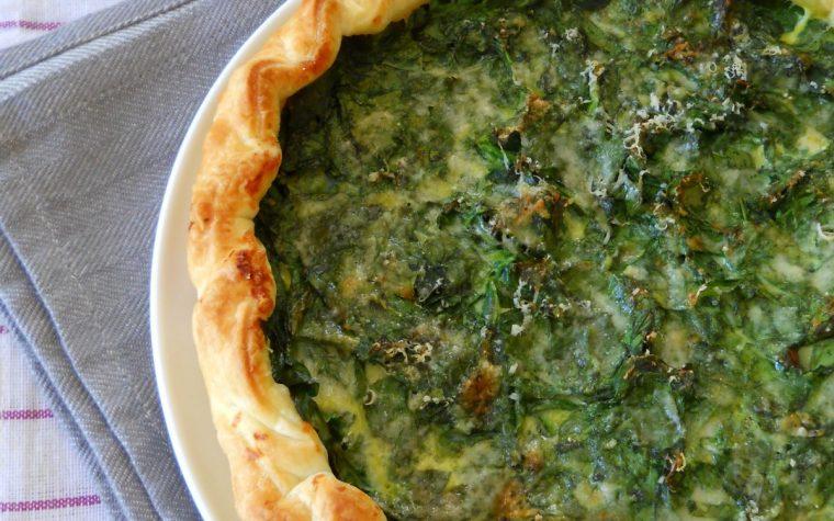 Quiche con spinaci