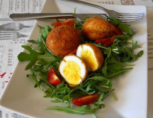 Uova alla monachina.Ricetta di famiglia