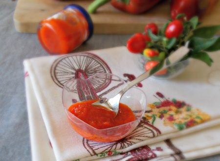 Conserva di peperoni piccante