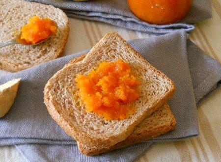 Confettura di carote al limone e zenzero