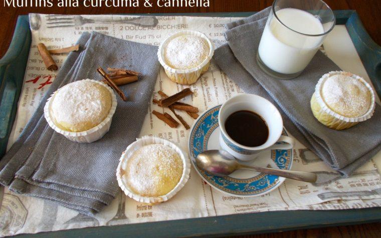 Muffins alla curcuma e cannella
