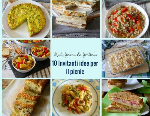 10 Invitanti idee per il cestino da picnic
