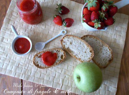 Composta di fragole e mele fatta in casa