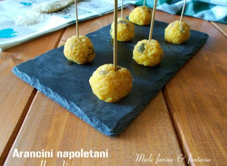 Arancini napoletani alle olive