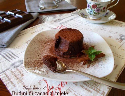Budini di cacao al miele facili e veloci