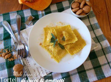Tortelli di zucca e amaretti fatti in casa