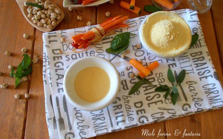 Pastella per fritture con farina di ceci