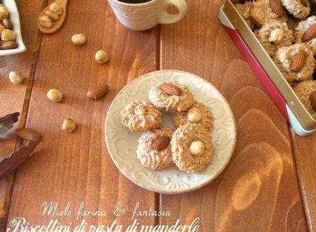 Biscottini alla pasta di mandorle