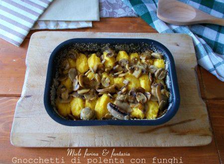 Gnocchetti di polenta con funghi