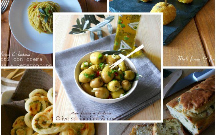 Speciale ricette con olive