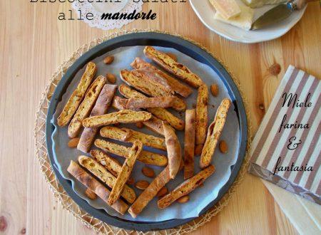 Biscottini salati alle mandorle